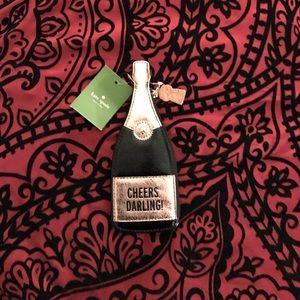 Kate Spade Champagne Coin Purse NWT